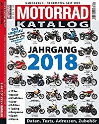 Motorrad-Katalog 2018